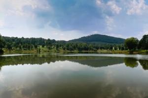View of Derbyshire Lake